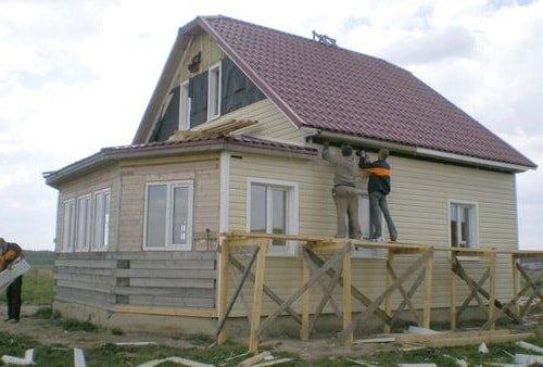 Материалы для наружной отделки деревянного дома