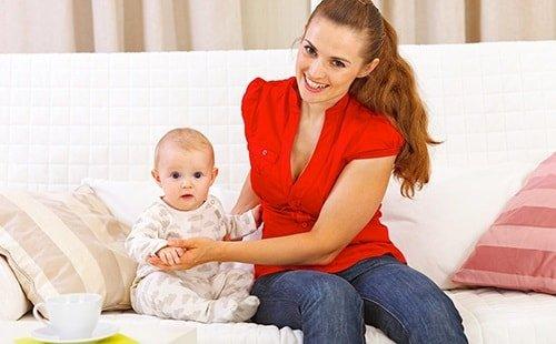 Коричневые месячные после родов