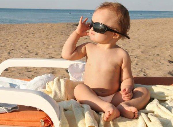 Жаркое лето и ребенок без перегрева
