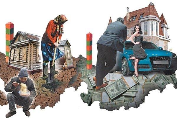 Богатство населения и богатство страны