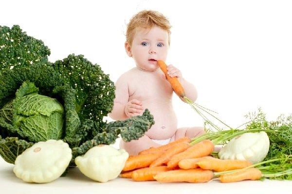 Новые продукты в питании ребенка до года