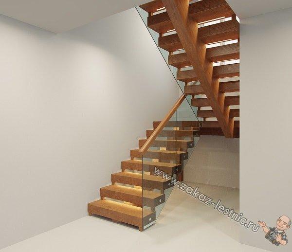 Основные виды лестничных ступеней — прямые, забежные, угловые