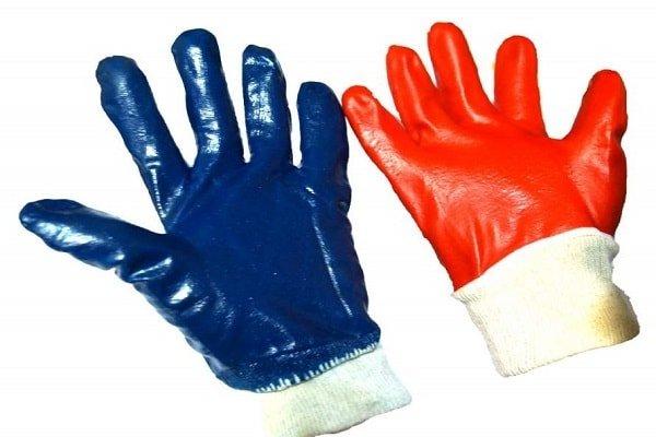 Перчатки масло-бензолостойкие (МБС)