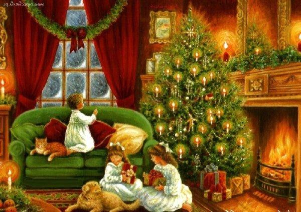 Подготовка к Новому Году и Рождеству с ребенком