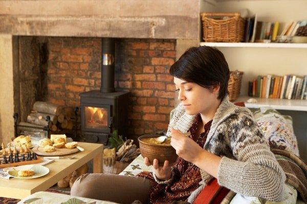 Правила зимнего рациона и питания зимой