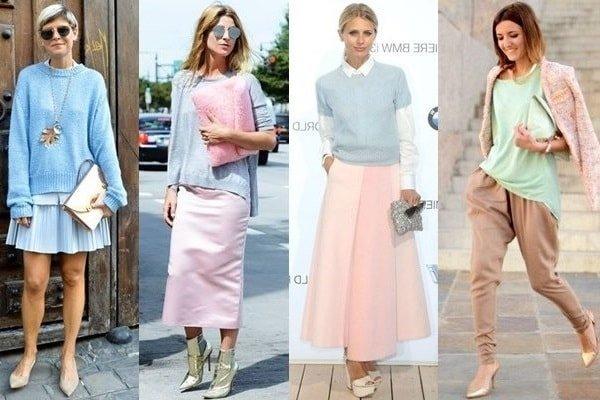 Романтический стиль в одежде и его особенности
