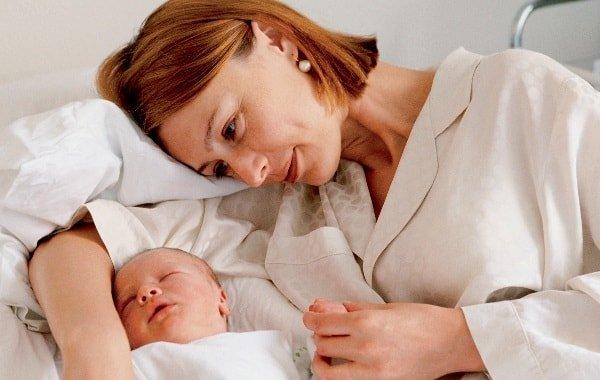 Восстановление после родов в первые недели