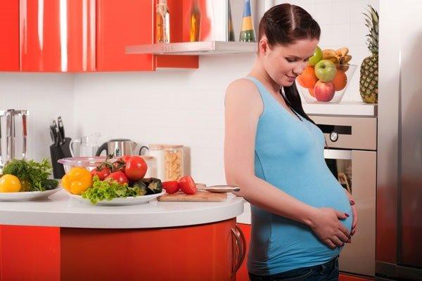 Вегетарианство и беременность.
