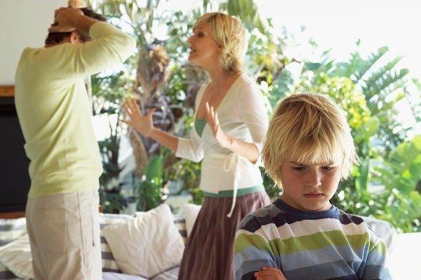 Бытовые конфликты в отношениях семейной пары