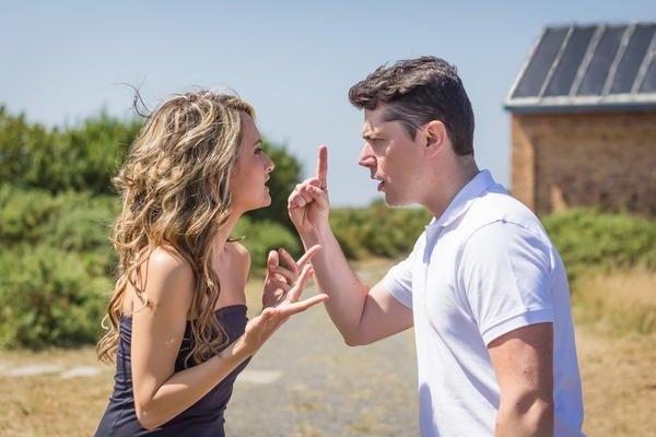 Бытовые конфликты семейной пары