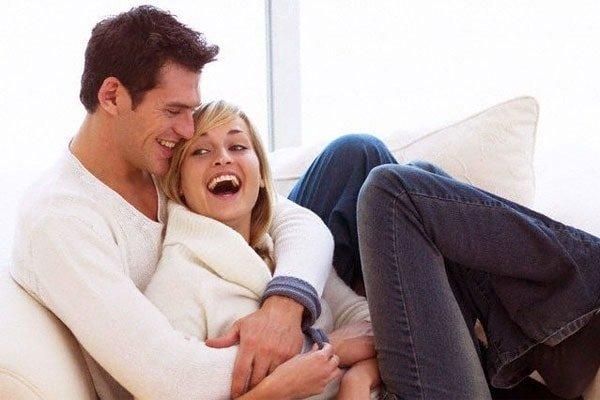Дружная счастливая пара