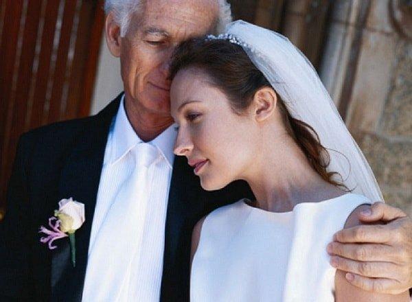 Большая разница в возрасте между мужем и женой