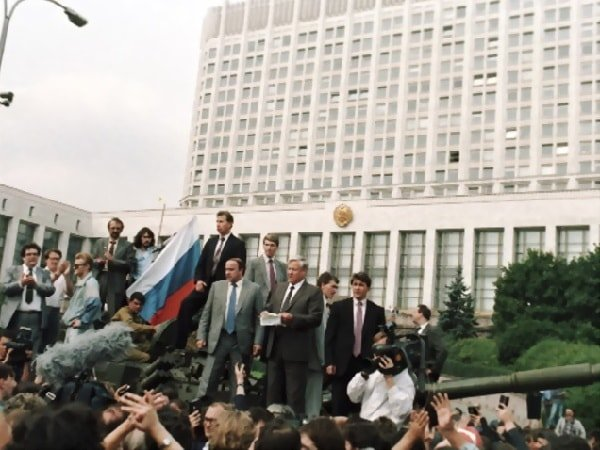 ГКЧП 19 августа 1991– что делали главы республик?