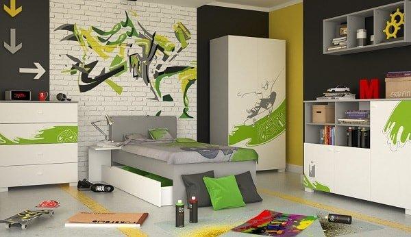 Мебель в детскую комнату для мальчика