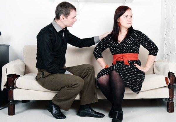 Недопонимание между супругами