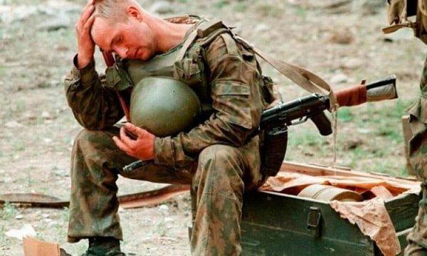 Посттравматическое стрессовое расстройство у солдат