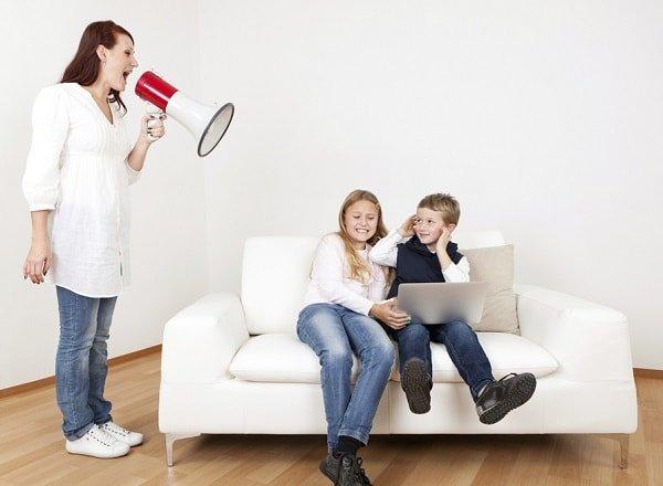 Принуждение в воспитании детей