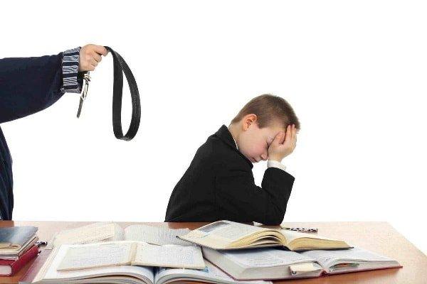 Принуждение в воспитании ребенка
