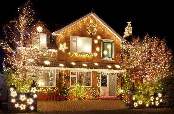Секреты новогоднего оформления фасадов