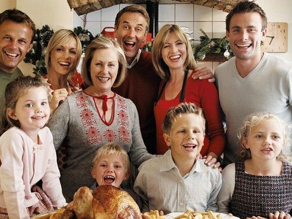 Семейные традиции укрепляют отношения в семье