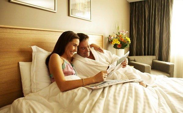 Мир и согласие между супругами укрепляет любовь