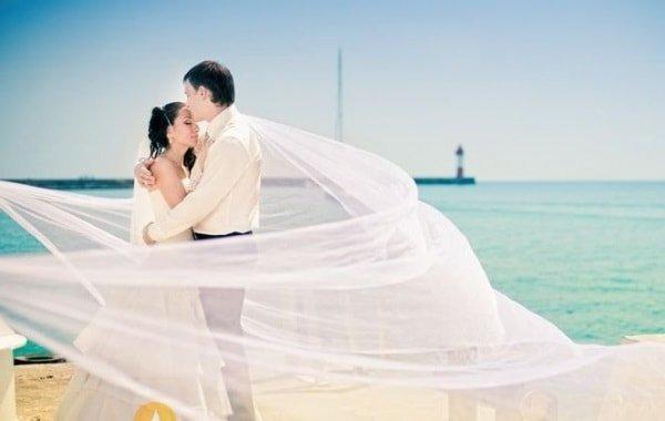 Фантастическая свадьба на берегу моря в Сочи