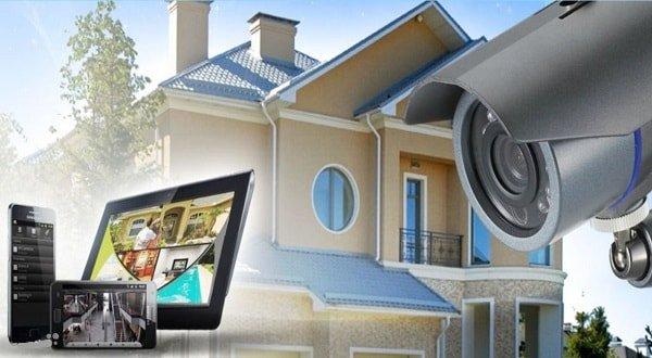 Установка и подключение видеонаблюдения для дома