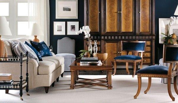 Дизайнерская мебель из Америки для интерьера гостиной