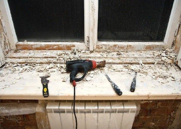 Как отремонтировать окно из дерева своими руками