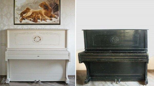 Как отреставрировать пианино своими руками