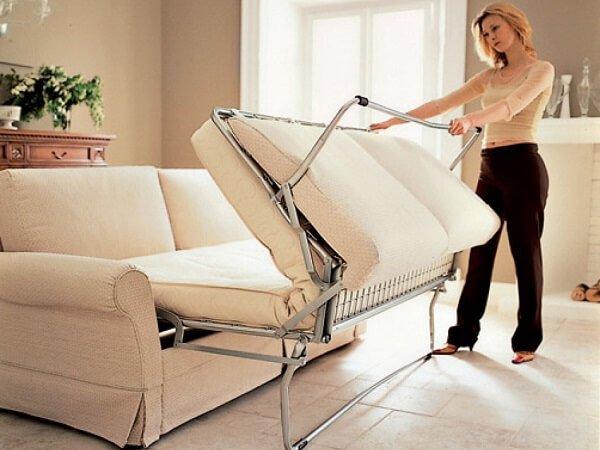 Матрас для дивана с механизмом «Французская раскладушка»