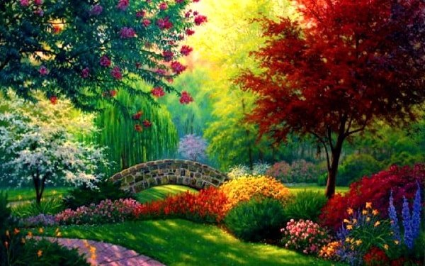 Рай на земле существует в душе человека