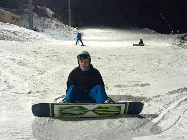 Первые шаги в сноуборде