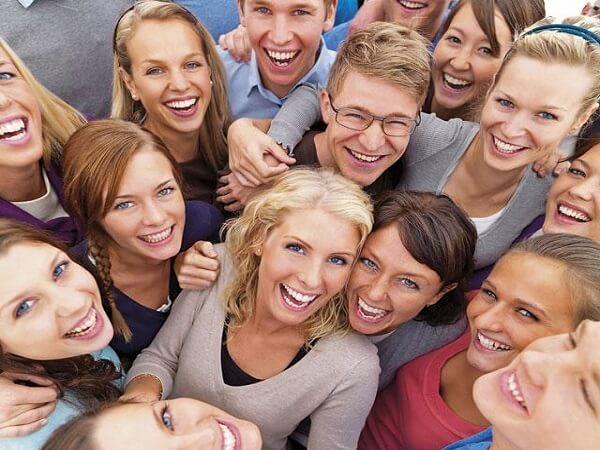 Фото счастливой компании