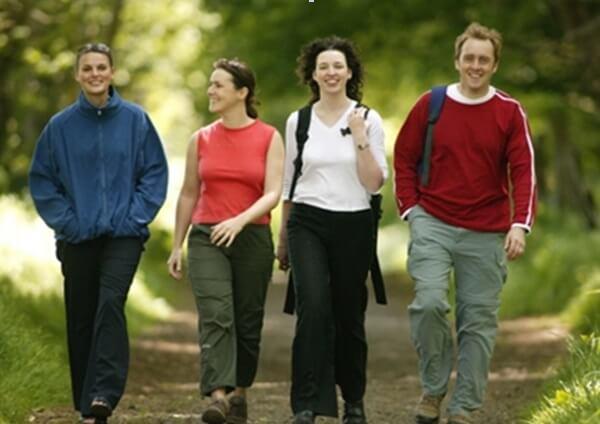 Ходить пешком в хорошей компании - одно удовольствие!