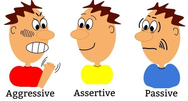 Агрессивный, ассертивный и пассивный