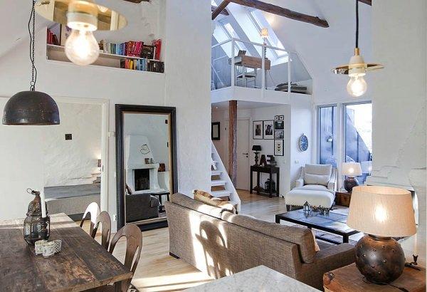 Особенности интерьеров домов в скандинавском стиле