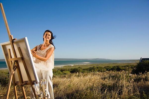 Писать картины в любом возрасте