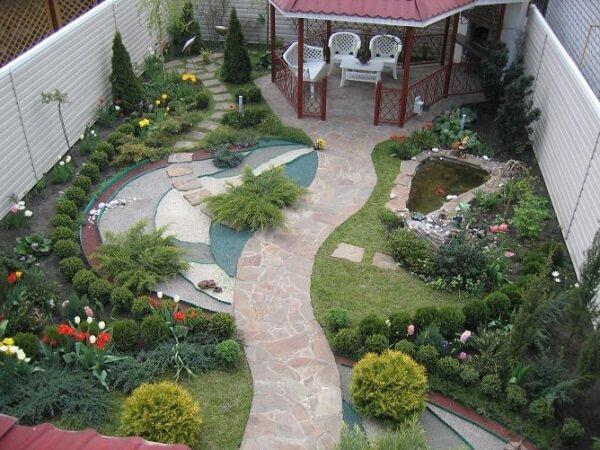 Ландшафтный дизайн небольшого садового участка