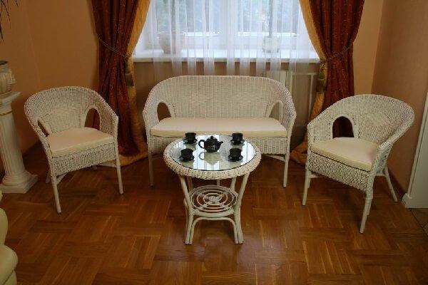 Плетеная мебель в стиле Прованс