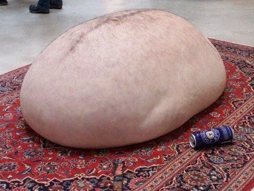 жир верхней части живота