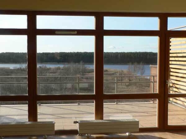 Панорамные большие окна фото 4