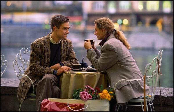 Первое свидание женщины с мужчиной
