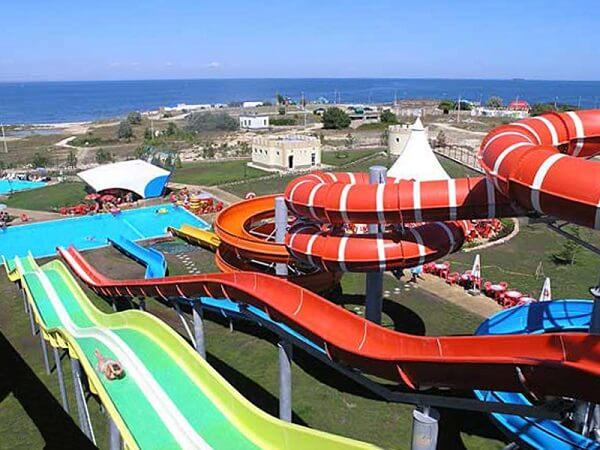 Развлечения для детей в Севастополе - аквапарк Зурбаган