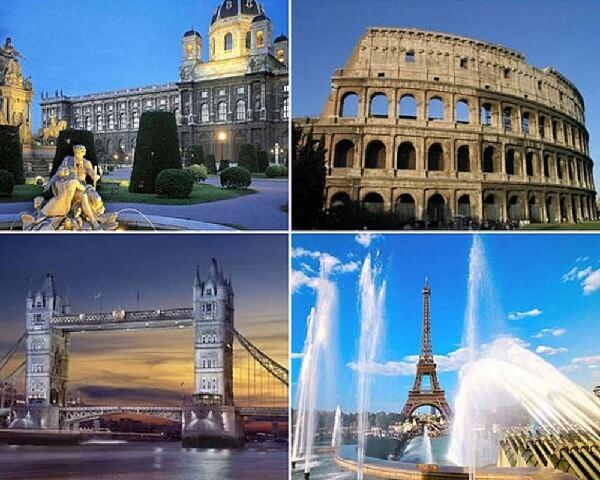 Зимние каникулы в Европе – варианты поездки