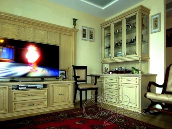 Корпусная мебель для гостиной.