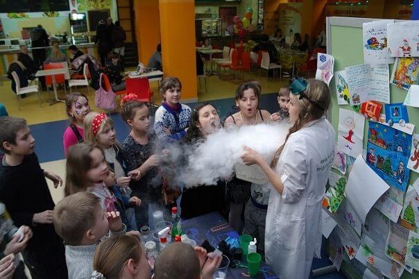 Научное шоу для детей.