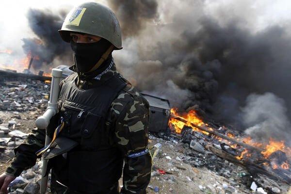 О войне на Украине и мирных жителях.
