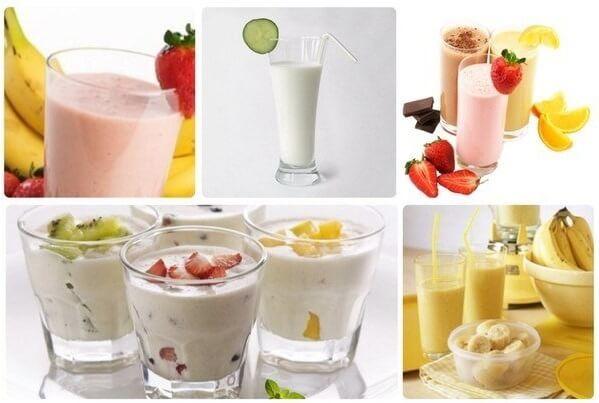 Протеиновый коктейль помогает снизить вес.