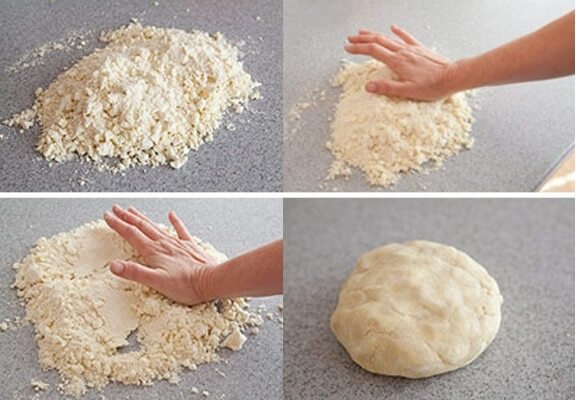 Рецепт песочного теста Бризе.